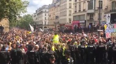法國意大利民眾上街 抗議健康證明、強制醫護打疫苗   立場報道   立場新聞
