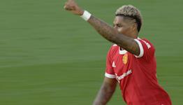 Rashford slams in Man Utd equalizer v. Leicester