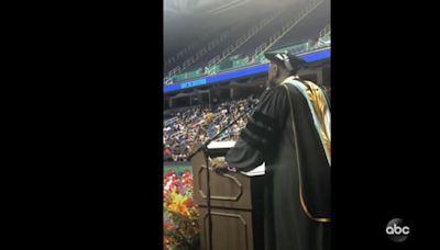 NC principal surprises graduating class with heartfelt 'I Will Always Love You' performance
