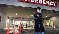 U.S. graduates turn regalia into PPE: Wear the cap, donate the gown