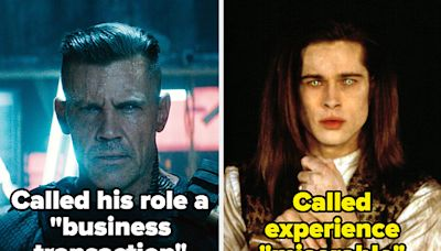 19 Times Actors Hated Playing A Character But Did It Anyway