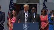 Former President Donald Trump announces lawsuit against major tech companies