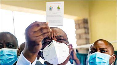 統統打過中國疫苗 辛巴威副總統赴中 隨員染疫