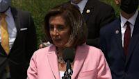 Pelosi optimistic on infrastructure bill