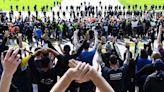 墨爾本反封鎖遊行第三天 戰爭紀念館前警民對峙