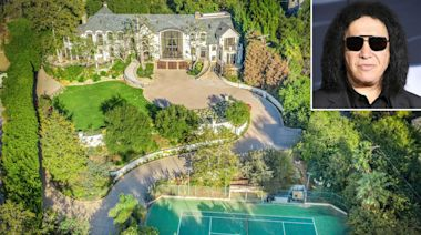 Gene Simmons Lists Lavish Beverly Hills Estate of Nearly 40 Years for $22 Million — See Inside!