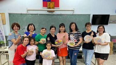 慶祝光輝溫馨母親節 嘉義縣民雄鄉雙福社區舉辦3週天然藝術果凍花手作活動