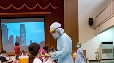 終於輪到了!台中市國、高中教師26、27日打疫苗