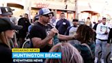 Video: Chuck Liddell takes to streets to break up fights and calm protest crowds