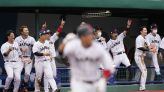Timely bunt rallies Japan past DR in 9th in Olympic opener
