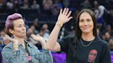 Sue Bird hilariously recalled how Megan Rapinoe nearly proposed while wearing a questionable bucket hat