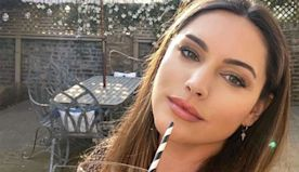 Kelly Brook shares a look inside her beautiful garden at £3million London home