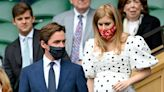 Princess Beatrice Sports a Polka Dot Dress over Her Baby Bump as She Attends Wimbledon with Husband