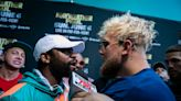 'I'll kill you': Floyd Mayweather, Jake Paul scrap after YouTube star swipes former champ's hat