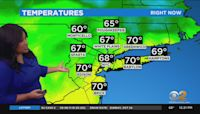 New York Weather: CBS2's 10/25 Monday Afternoon Update