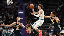 When LaMelo Ball shoots like that, the Charlotte Hornets can beat anybody
