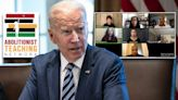 Republicans pile on Biden administration for promoting CRT group