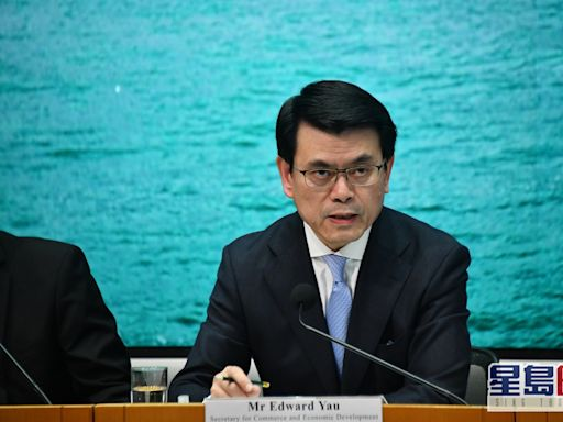 邱騰華指外資在港設公司數目平穩 反對美國干預