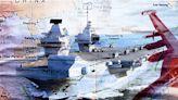 【軍事熱點】英航母編隊進南海 J-15也想有所為