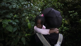Thousands of Haitian migrants are being held under a bridge in Texas