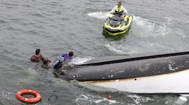 5 rescued, 1 hurt after boats collide on Merrimack River