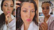 Kourtney Kardashian Gets Unconventional Makeover From Daughter Penelope