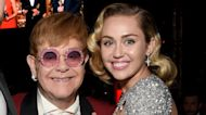 Miley Cyrus Teases Cover of Metallica's 'Nothing Else Matters' With Elton John | Billboard News