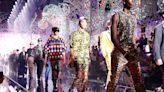 Dolce & Gabbana light up Milan men's fashion week with a celebratory collection