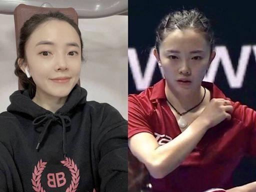 韓桌球正妹選手「整形前後照」流出 高EQ迎戰傳言