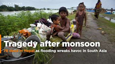 Monsoon flooding and landslides in Nepal lead to rising death tolls