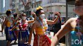 九龍城潑水節連續兩年取消 泰裔市民載歌載舞照過節:慳返啲水
