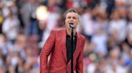 Robbie Williams at a stage in his life where he is 'embracing eccentricity'