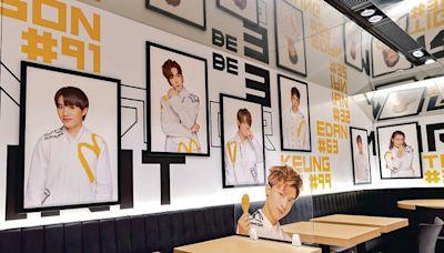 麥當勞化身MIRROR主題店 12子各有專屬餐廳巴士 - 晴報 - 港聞 - 新聞