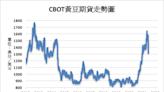 《農產品》對陸出口銷售支撐 CBOT黃豆上漲0.5%