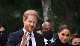 Prince Harry and Meghan Markle Kick Have Arrived in New York City