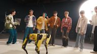 Click News: Robot dog in dance-off with boy band