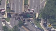 No Serious Injuries After DC Pedestrian Bridge Collapses On Wednesday