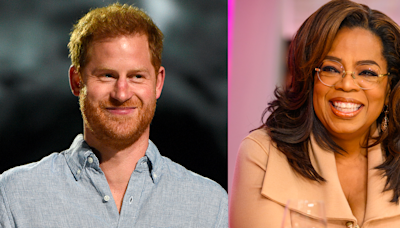 """Oprah and Prince Harry Hope Their Mental Health Series Will """"Spark Global Conversation"""""""