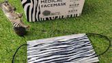 野性美第二彈! 再推「斑馬紋口罩」限量1萬盒
