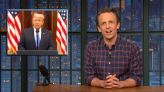 Seth Meyers' Inauguration Eve Warning: Trump Could 'Happen Again'
