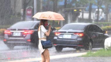 西南風挾帶水氣 中南部留意豪雨大雨