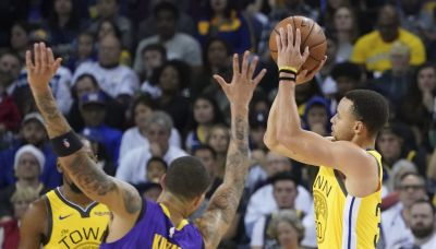 Lakers' Kyle Kuzma labels Steph Curry 'the greatest shooter ever'