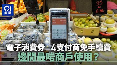 消費券|4電子支付商手續費全免 同一跑道下邊間最啱商戶使用?