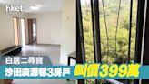 【白居二尋寶】沙田廣源邨3房戶 叫價399萬 - 香港經濟日報 - 地產站 - 二手住宅 - 住宅放盤