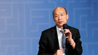 Enact refugee law to help Hong Kong, Taiwan presidential hopeful says