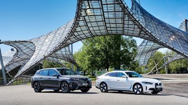 再掀電動車市場波瀾,BMW iX、i4 啟動未來純電生活
