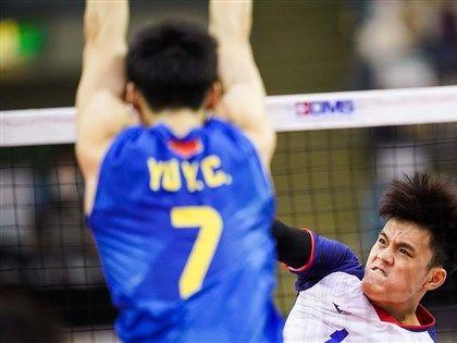 台灣男排亞錦賽不敵中國 奪第4名追平隊史紀錄