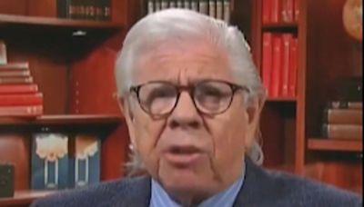 Watergate reporter Carl Bernstein calls Donald Trump an 'American war criminal'