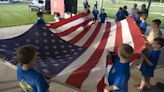 Watch now: Mount Zion Boy Scouts mark Flag Day