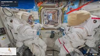 Google Maps unveils its latest destination: the International Space Station